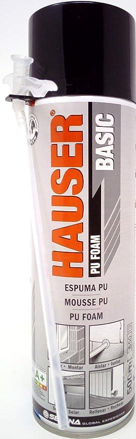 Espuma expansiva de poliuretano 500 ml- aplicación Manual con boquilla – Forte Expansion