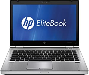 HP EliteBook 8460p 14-inch LED Notebook, Intel Core i5 2520M Processor, 4GB RAM, 320GB Hard drive, Windows 7 professional 64 bit.