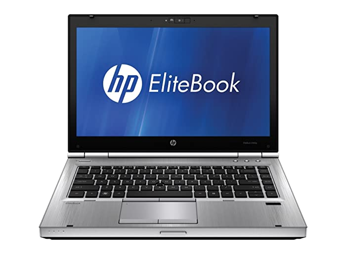 HP EliteBook 8460P 14-inch Notebook PC - Intel Core i5-2520M 2.5GHz 4GB 250GB Windows 10 Pro (Renewed)