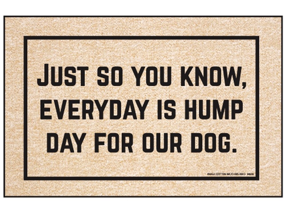 High Cotton Everyday Hump Day Mat by High Cotton