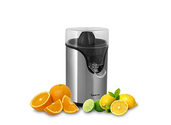 Suntec Wellness ZIP-8434 Design Exprimidor 1 W, acero inoxidable: Amazon.es: Hogar