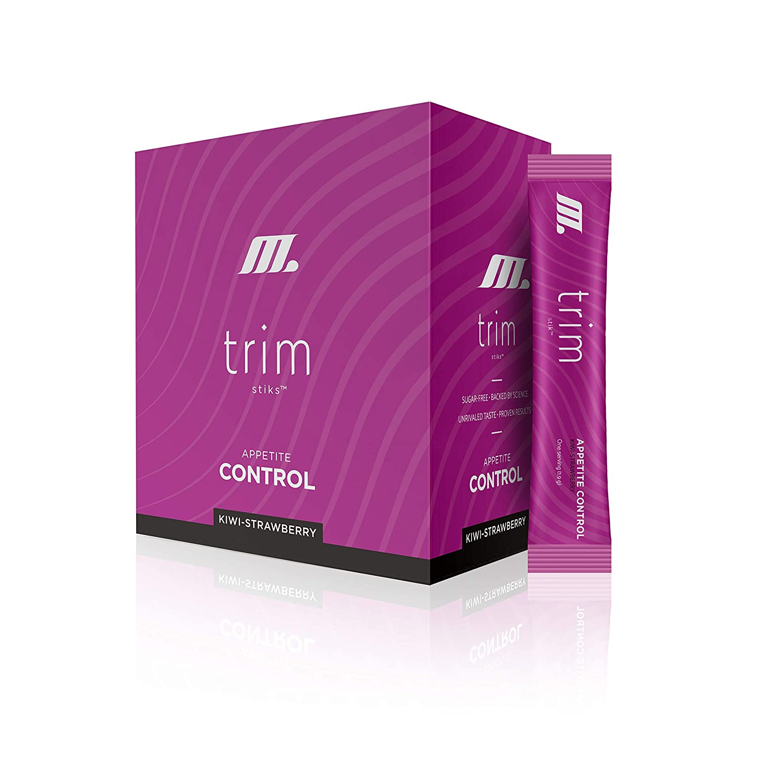 TRIM Stik, Appetite Control, Delicious Kiwi Strawberry beverage, low-calorie, 30 ct. servings was Slim.Stik