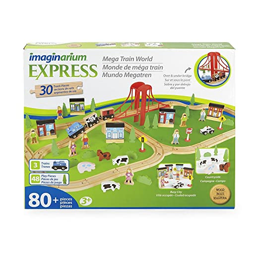 Amazon.com: Imaginarium Express, Mega Train World: Toys & Games