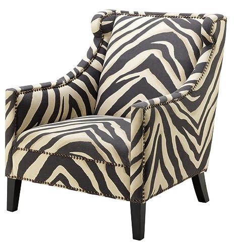 Casa Padrino sillón en diseño Cebra 74 x 81 x H. 89 cm ...