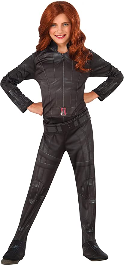 Captain America III Civil War Black Widow Halloween Cosplay Costume