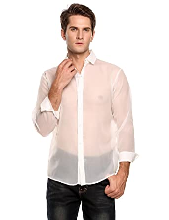 Sexy dress shirts for men