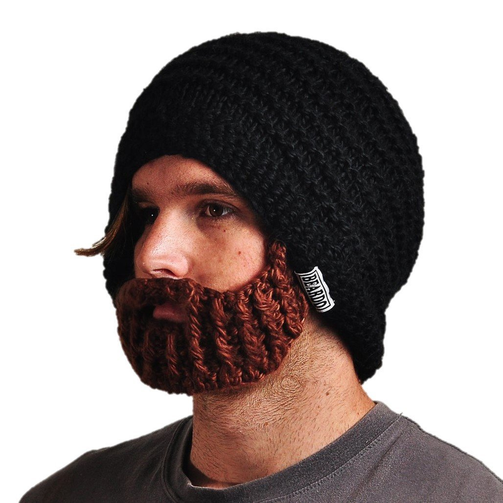 Amazon Beardo Original Detachable Beard Hat Black Brown
