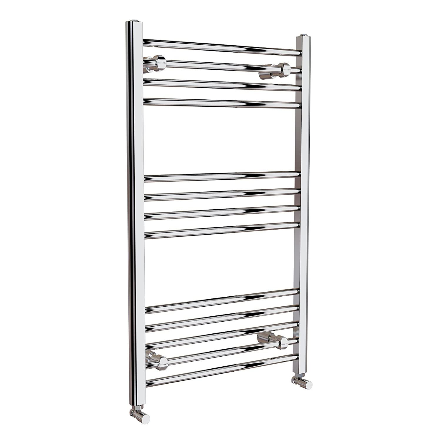 Natasha ladder rail straight modern electric towel radiator in chrome - Ibathuk 1000 X 500 Thermostatic Electric Heated Towel Rail Bathroom Radiator Ibathuk Amazon Co Uk Diy Tools