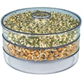 Sprout maker, live healthy life, sprouts ready in 12 hrs. Plastic Container (3 containers)