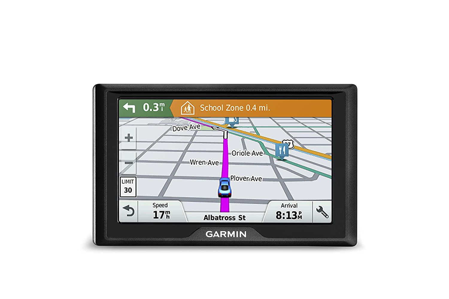 amazoncom garmin drive 50 usa lm gps navigator system with lifetime maps spoken turn by turn directions direct access driver alerts and foursquare