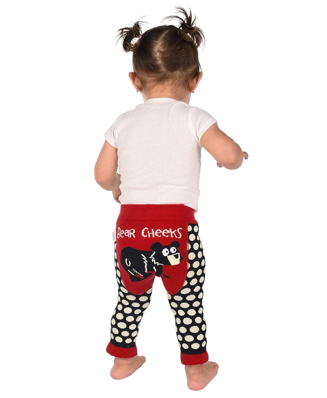aa76e4b44a060f Lazy One Unisex Bear Cheeks Infant Leggings: Amazon.co.uk: Clothing