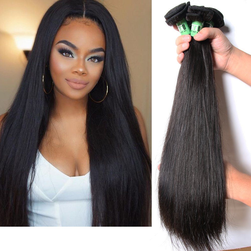 Amazon Msbeauty Hair 10a Brazilian Virgin Hair 3 Bundles 20 22