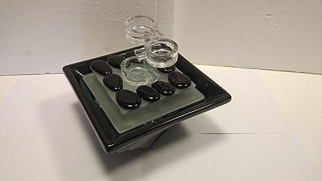 Top shop fontanella zen decorativa con led per illuminazione vetro e