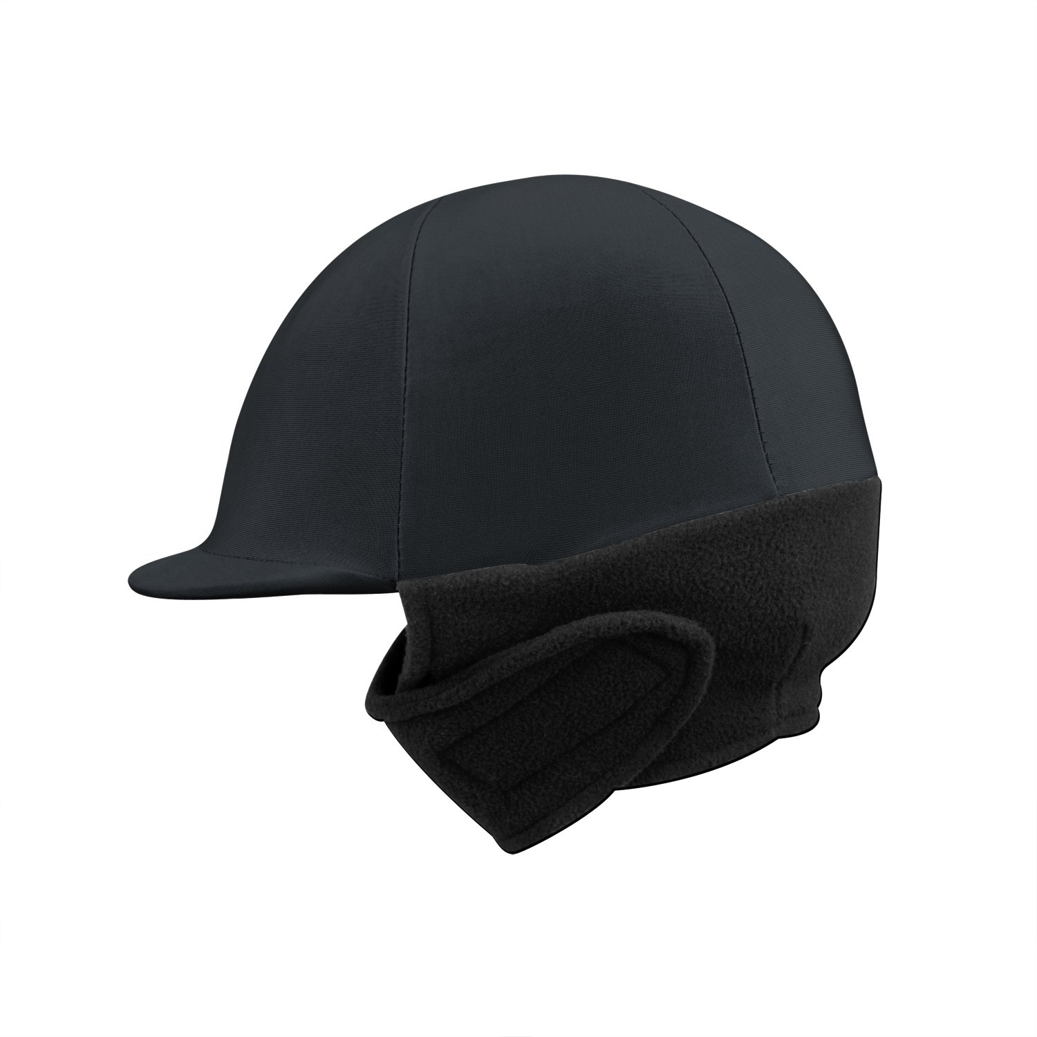 Perri's Leather Winter Helmet Cover Black One Size Perri' s 10W