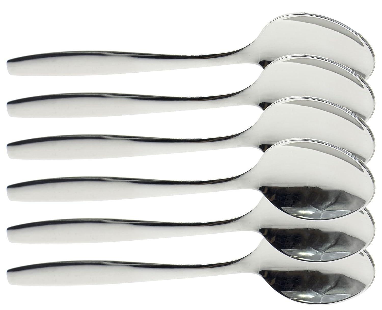 Tenedores y cucharillas de acero inoxidable, para postres ...