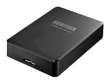 【クリックでお店のこの商品のページへ】I-O DATA マルチ画面 外付グラフィックアダプター USB 3.0/HDMI端子対応/WUXGA/フルHD USB-RGB3/H