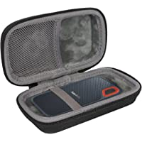 Hart Reise Schutz Hülle Etui Tasche für SanDisk Extreme Portable SSD 250 GB/500 GB/1 TB/2 TB von co2CREA … (Nein NETO)