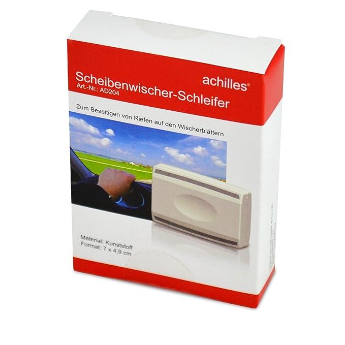 Aquilles®, Amoladora para escobillas de limpiaparabrisas, herramienta para preparar parabrisas, AD204, 7 cm x 4,5 cm x 2 cm: Amazon.es: Coche y moto