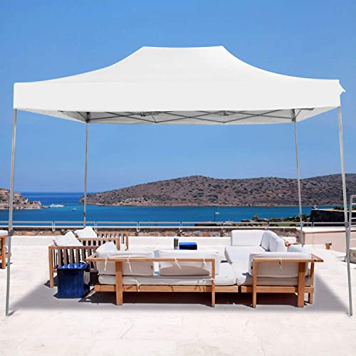 PHI VILLA 10 x15 Striaght Leg UV Block Sun Shade Canopy