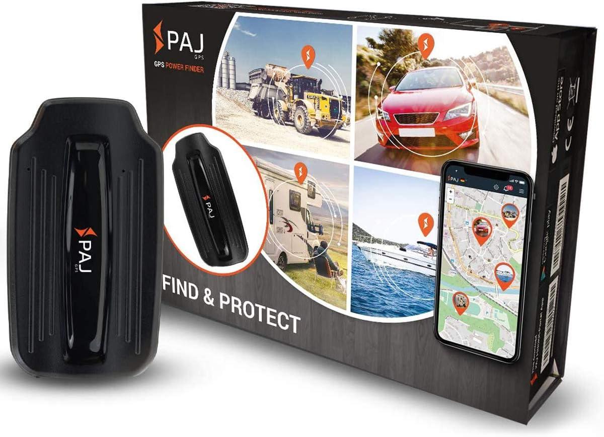 Paj Gps Power Finder Gps Tracker Auto Motorrad Fahrzeuge Und Lkw S Mit Magneten Und Live Tracking Ca 40 Tage Akkulaufzeit Bis Zu 90 Tage Im Standby Modus Navigation