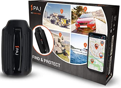 Paj Gps Power Finder Gps Tracker Car Motorcycle Vehicles And Lorries Including Magnets Approx 40 Day Battery Life Up To 90 Days In Standby Mode Navigation Car Hifi