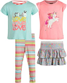 Limited Too Baby Girls 2 Piece Fashion Top and Belted Short Set