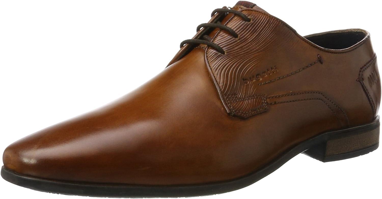 bugatti 312295011100, Zapatos de Cordones Derby para Hombre
