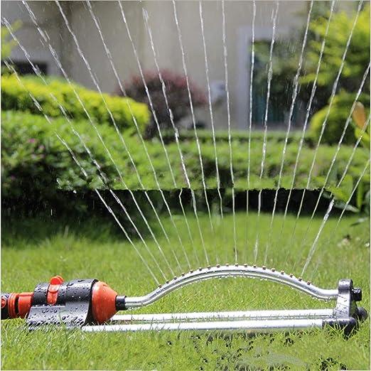 Aspersor de césped, Aspersor de jardín, Aspersor automático de riego rotativo para Aspersor, Patio: Amazon.es: Hogar