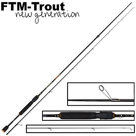 FTM Virus Spoon XP 9 2,06 m 0 - 4,5 g - Ultra Light caña de pescar ...