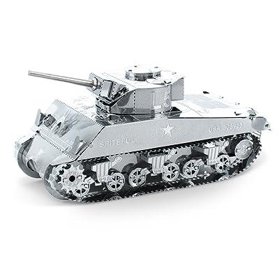 Fascinations Metal Earth Sherman Tank 3D Metal Model Kit: Varios: Toys & Games