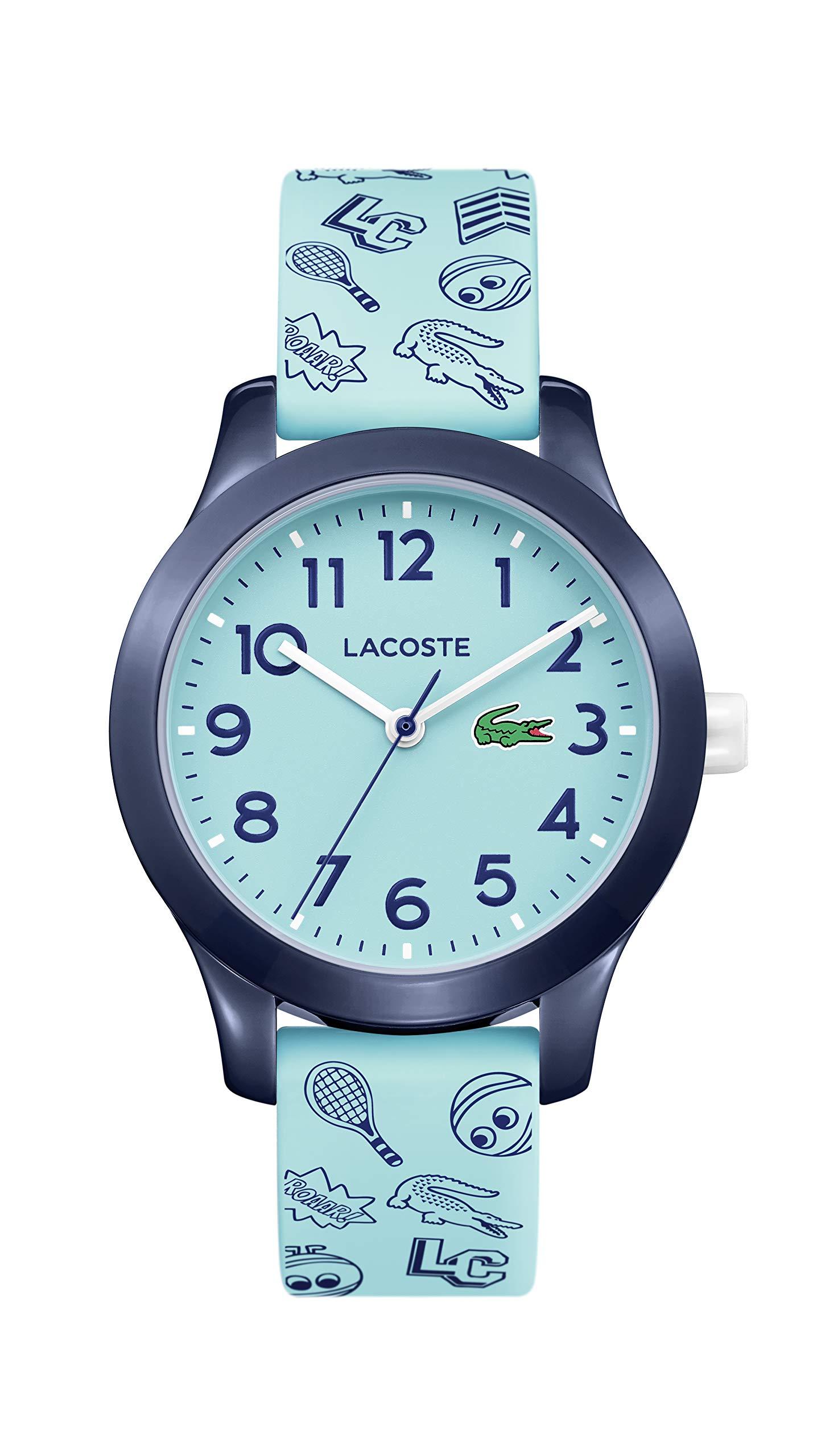 CDM product Lacoste Kids' TR90 Quartz Watch with Rubber Strap, Blue, 14 (Model: 2030013) big image