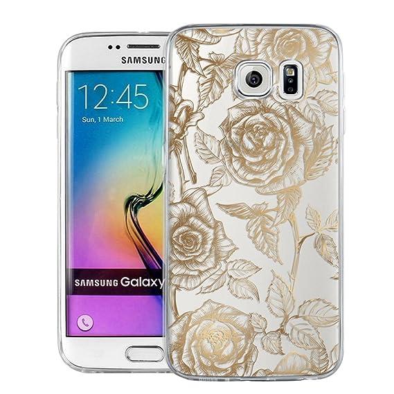 MTT Designer Pattern Printed Back case Cover for Samsung Galaxy S6 Edge  (Design21)