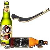 Miicol Hockey Stick Beer Beverage Cap Bottle Opener, Durable Solid Metal, Funny Gifts for Beer Lovers, Housewarming or Drinki