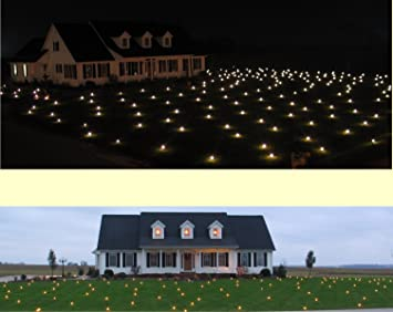 lawn lights illuminated outdoor decoration led christmas 36 08 warm white - Christmas Lawn Lights
