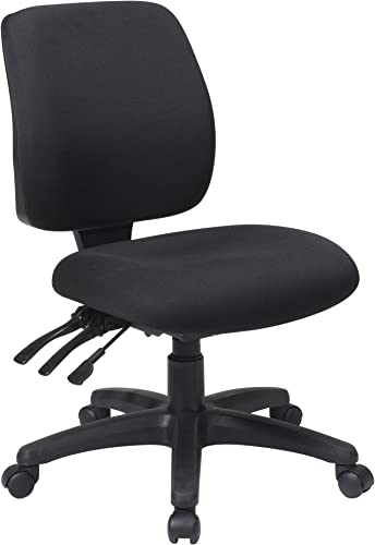 Office Star Mid Back Dual Function Ergonomic Chair