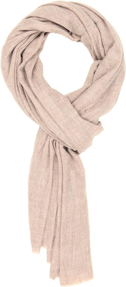 Men Business Solid Long Scarf Pure Cashmere Winter Warm Soft Scarves Wrap Women