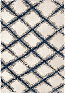 "product image for Orian Rugs Line Trellis White 2'3""x8'"