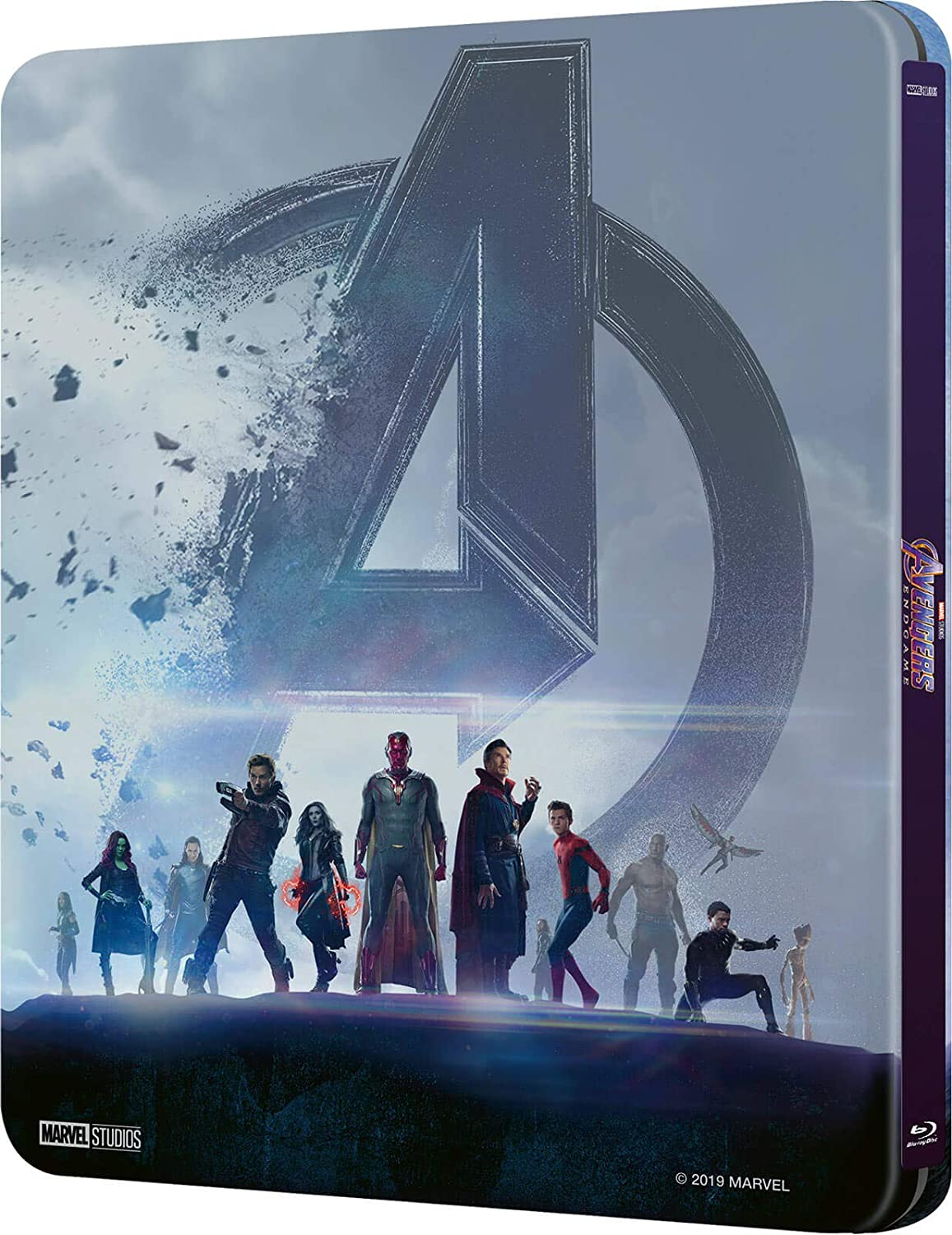 Avengers Endgame 3D Limited Edition Steelbook / Import / Includes 2D Region Free Blu Ray: Amazon.es: Cine y Series TV