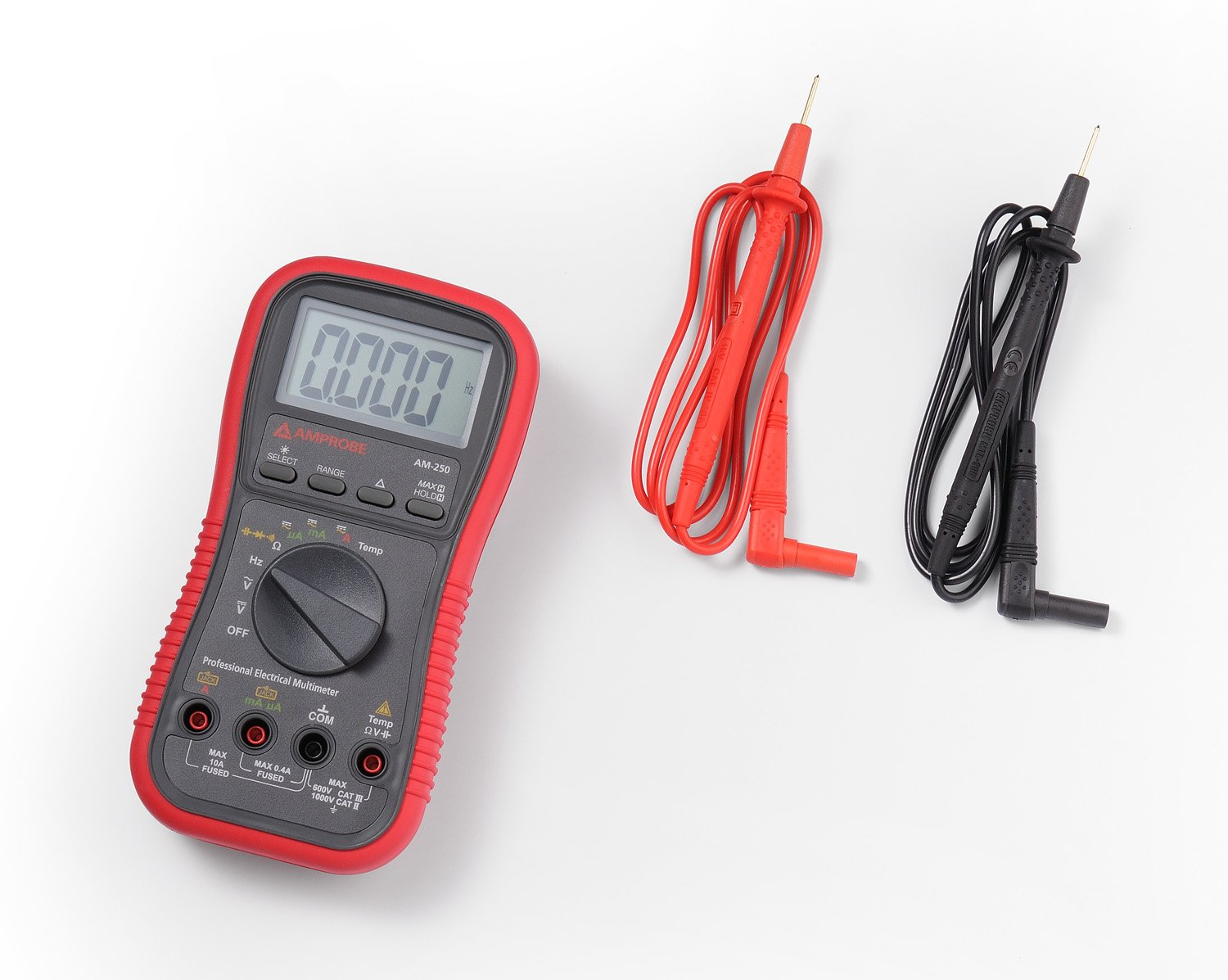 Amprobe Am 250 Industrial Digital Multimeter Multi Testers Amazon Amprobes First Tier Advanced Circuit Tracer For Basic Applications Home Improvement