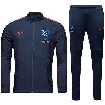 4b6065f4326c Nike PSG M NK DRY TRK SUIT SQD W Tracksuit Paris Saint Germain for ...