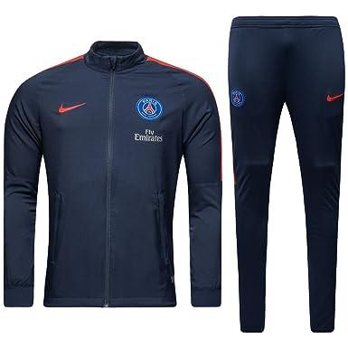 Nike PSG M NK Dry TRK Suit SQD W - Chándal Paris Saint Germain ...