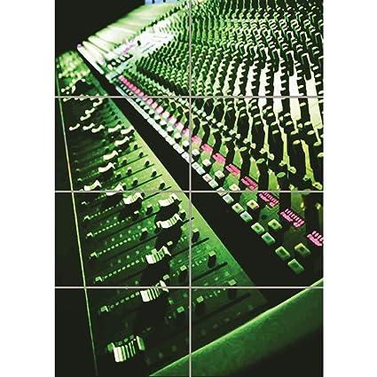 Amazon com: Doppelganger33 LTD PosterMusic Sound Mixing Desk