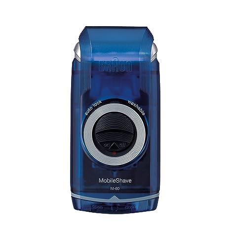 Braun PocketGo M60b MobileShave - Afeitadora eléctrica para hombre portátil ad52fcdb5330