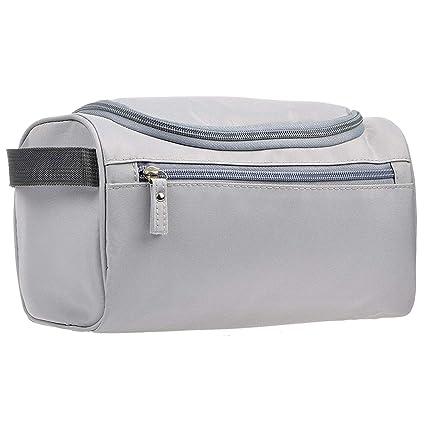 972391095 Bolsa de Aseo de Viaje Colgante Organizador y Baño Dopp Higiene Kit con  Gancho para Accesorios