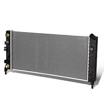 TYC 2827 Chevrolet Impala 1-Row Plastic Aluminum Replacement Radiator