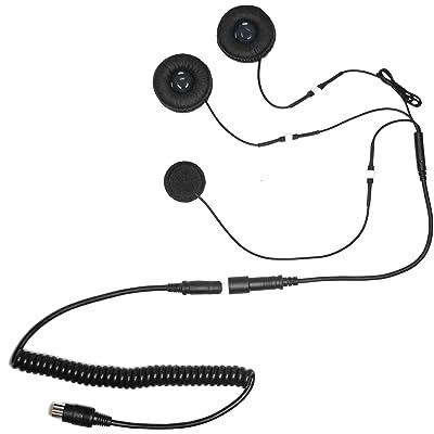 iMC Motorcom HS-H110P Full-Face Helmet Headset for 7 Pin Harley Davidson Audio Systems: Automotive