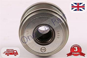 Polea de embrague alternadora C5 F2365911 593832 5705CS 9649611280: Amazon.es: Coche y moto