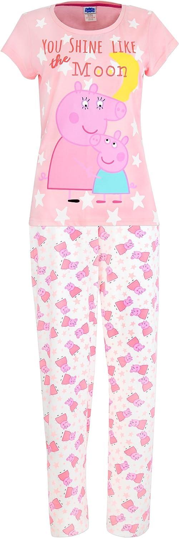 Peppa-Wutz Peppa Pig Schlafanzug Pyjama M/ädchen Kurzarm