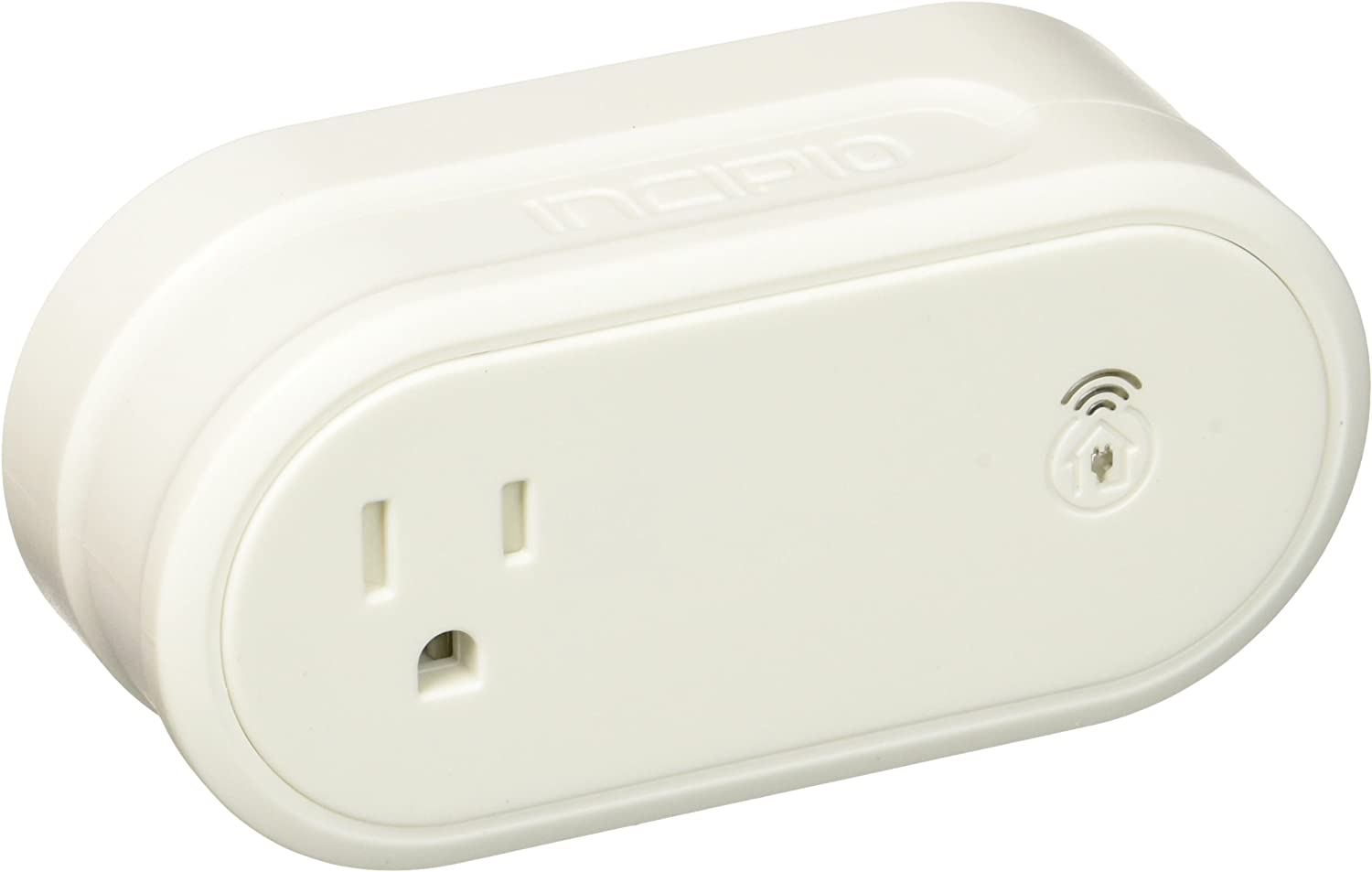 Incipio CommandKit Wireless Smart Outlet Adapter, WiFi Enabled Smart Home Automation System Adapter
