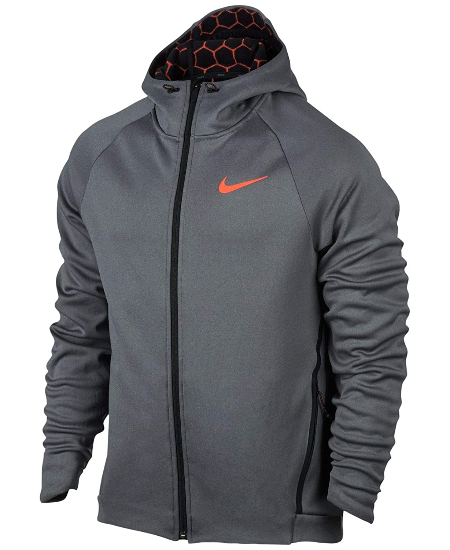 Chaqueta de chándal para hombre Therma Sphere Max de Nike, gris ...